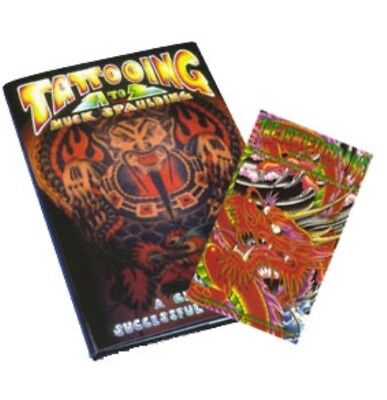 Tattooing A to Z by Huck Spaulding & The Art of Tattooing DVD