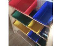 Storage for children's room or nursery