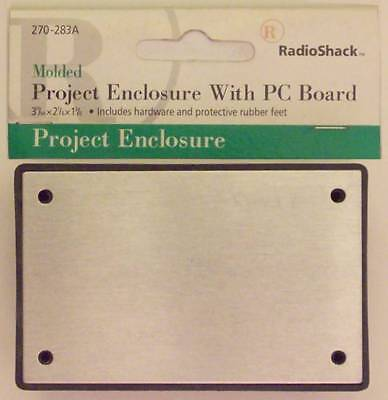 Radioshack Project Enclosure Aluminum Cover Pc Board 3-1964 X 2-18 X 1-38