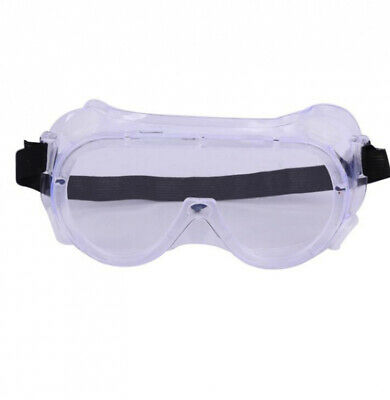 Protective Clear Safety Anti Fog Goggles Glasses Work Lab Outdoor Eye Protection