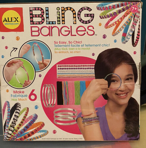 Alex Toys Craft Kit Bracelets Do-it-Yourself Wear Bling Bangles - $13.90