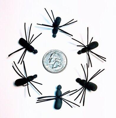Foam Spiders 4 Colors Size 10 Flies 2 Spiders//Auction Bluegill Panfish Trout