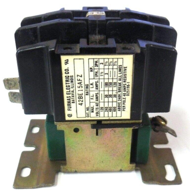 FURNAS ELECTRIC CO. CONTACTOR , 42BE15AZF, 120 / 600 V