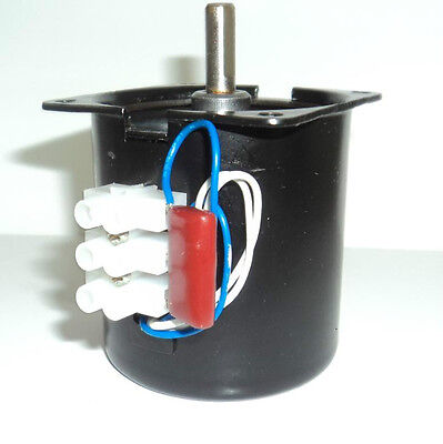 60ktyz Ac 220v 80rpm 7mm Dia Shaft Permanent Magnet Synchronous Motor