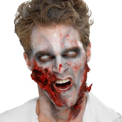Zombie Liquid Latex Halloween Special Effect Make Up Wound Flesh Scar Adhesive ()
