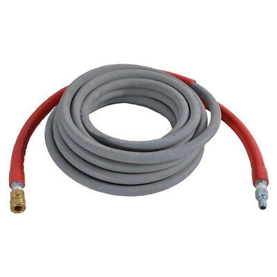 Gray Wrapped Rubber Hot Water Pressure Washer Hose 38 X 50 X 4500 Psi 41183