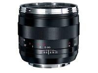 new Carl Zeiss 50mm f/2.0 Makro-Planar ZE Macro Lens for Canon EF Mount SLRs