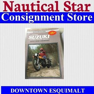 CALMER MANUAL SUZUKI 1964 TO 1979 SINGLES 125CC TO 400CC