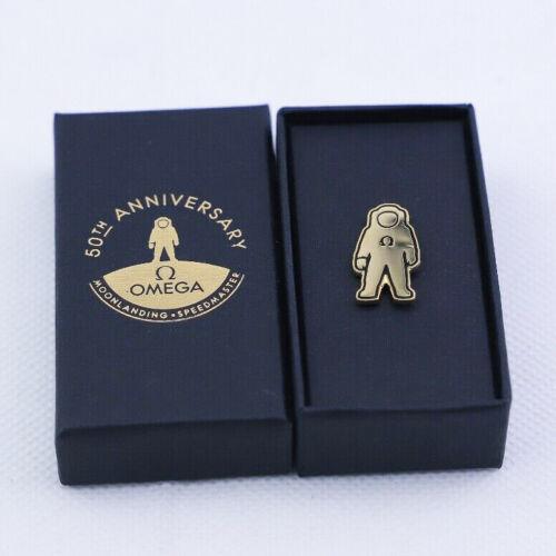 Omega apollo 11 moon landing 50th anniversary brooch Lapel Pin