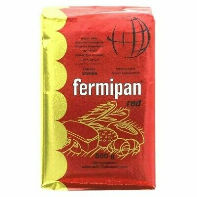 500g Fermipan Red Instant Dried Yeast For Bread Bakers Bakery