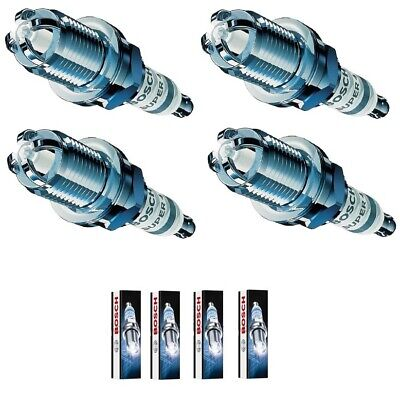 4X Double Iridium Spark Plugs for PEUGEOT 207 1.6 16 V RC 2007 Onwards