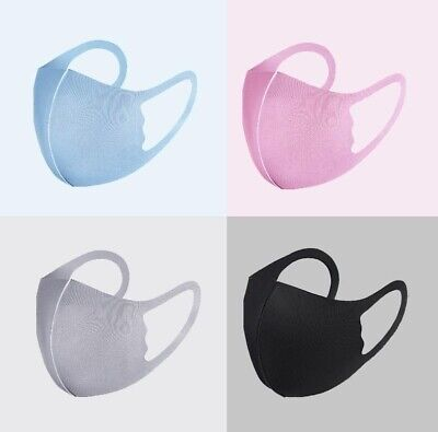 3xFace Mask - Face, Mouth & Nose Protection Mask *Reusable & Washable* UK SELLER