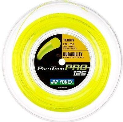 Yonex Poly Tour Pro 16L string 656ft/ 200m Reel (Free Express Shipping)