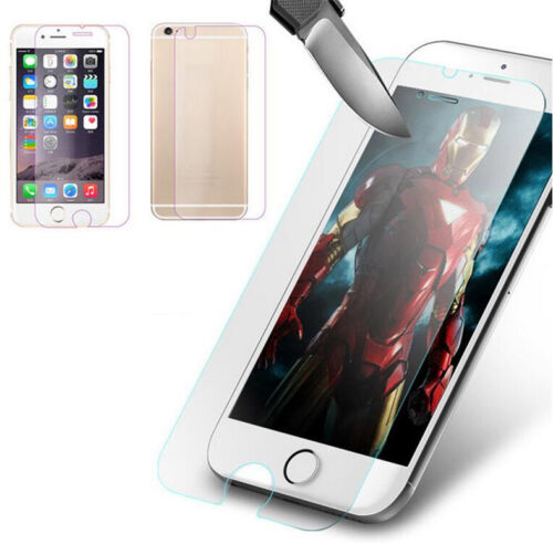 Iphone  Tempered Glab Front And Back