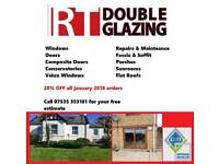 RT Double Glazing -20% off for January orders