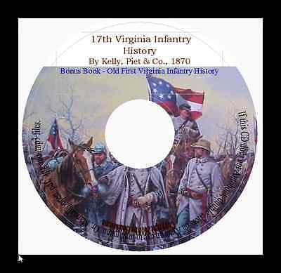 Seventeenth Virginia Infantry History