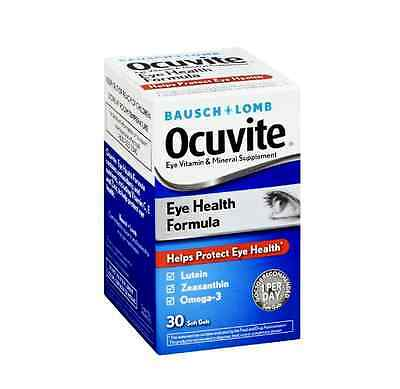 Bausch + Lomb Ocuvite Eye Health Formula, 30 ea