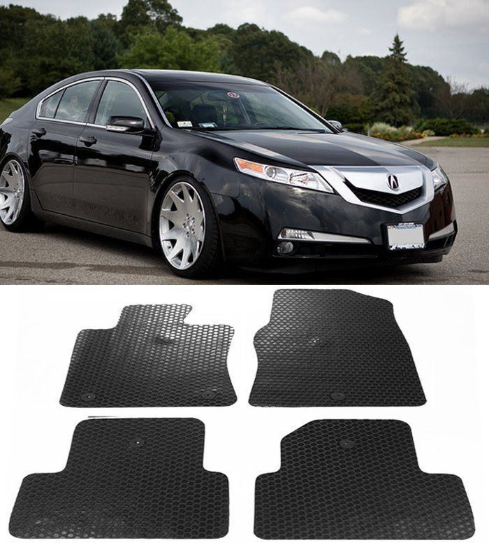 For 2009-2014 Acura TL All Weather Black Or Beige Rubber
