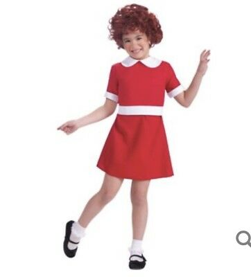 Orphan Annie Toddler Costume With Wig](Annie Costume Toddler)