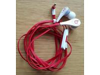 New Beats by Dr Dre Tour 2.0 In-Ear Headphones With Microphone & Remote Control White RRP £120