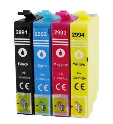 4 Drucker Patronen kompatibel für EPSON XP332 XP335 XP342 XP345 XP352 XP355