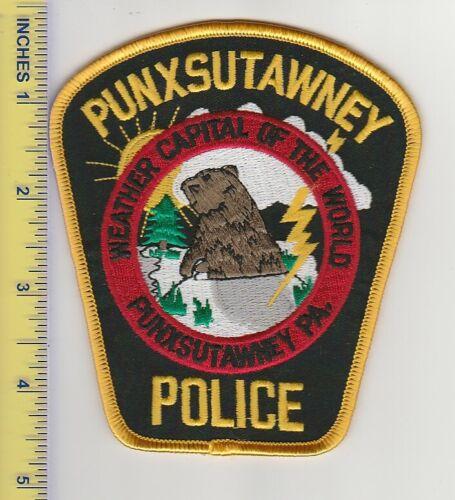 US Police Patch Punxsutawney Pennsylvania Police Department