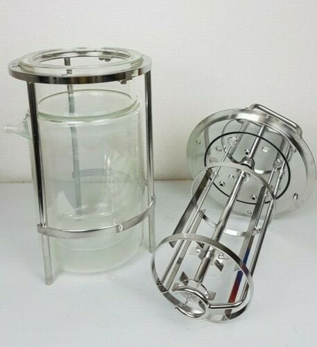 Sartorius 5L Jacketed Glass Vessel For Bio Reactor / Biostat - No Chips!!!