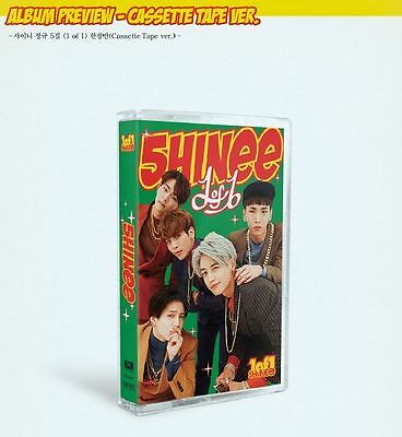 SHINee [1 OF 1] 5th Album Cassette Tape + Folded Poster LIMITED EDITION SM