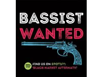 BASSIST WANTED BY ESTABLISHED ROCK / GRUNGE BAND. GIGS SOON.