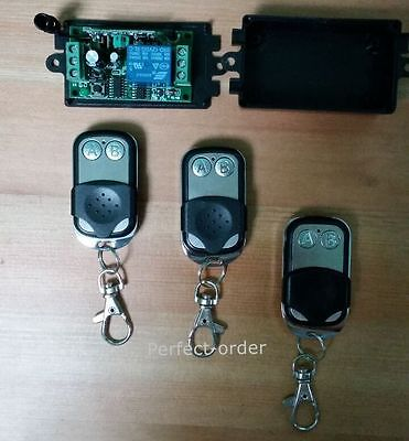 New 1V3 Wireless Remote Control for Door Access Control System Open Door lock