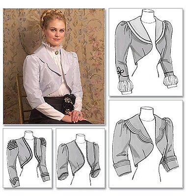 Schnittmuster Viktorianische Jacken; Gr. 40-46