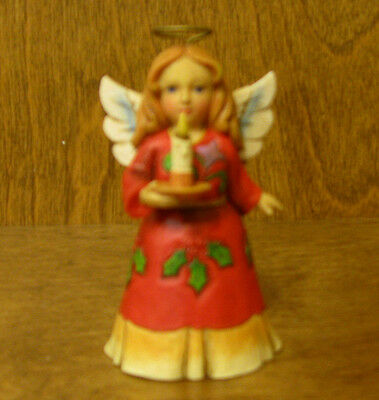 Jim Shore Heartwood Creek Minis #4053825 HOLLY ANGEL, New From Retail Store