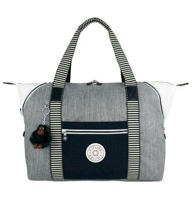 NEW - Kipling Art Medium Tote Handbag - Weave Combo