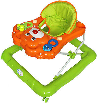 Bebe Style Deluxe Baby Walker With Toy Tray + Music And Activities! New