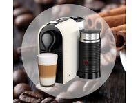 Nespresso Krups U&Milk (cream colour)
