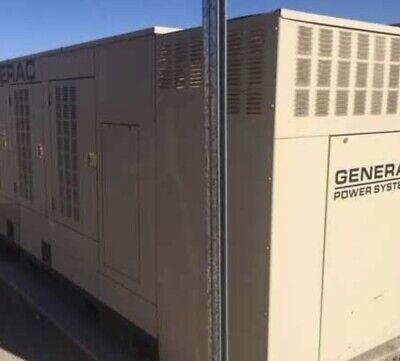 Used Generac Natural Generator. Low Hours