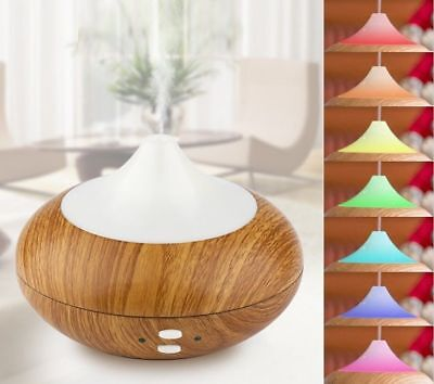 Luftbefeuchter LED Ultraschall Duftöl Aroma Diffuser Humidifier Diffusor