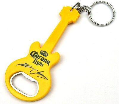 Corona Cerveza Ee.uu. Abrebotellas Guitarras Forma Kenny Chesney Abridor Gelb