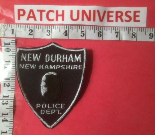 NEW DURHAM NEW HAMPSHIRE  POLICE  SHOULDER PATCH  L029