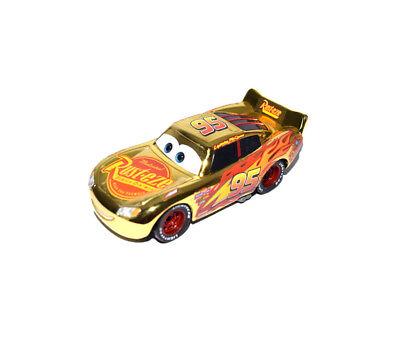 Disney Pixar Cars 3 Diecast Gold Rust-eze Lightning Mcqueen Loose Toy Car