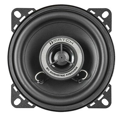 Helix Match MS4X Auto Lautsprecher 10 cm Koaxial 180 Watt Paar Audiotech