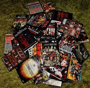 Wrestling DVD's 40 available ROH TNA WCW WWE includes disc sets Prince George British Columbia image 2