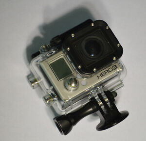 Go Pro Hero 3 Black Edition w/ Touch Screen Backpack & Case