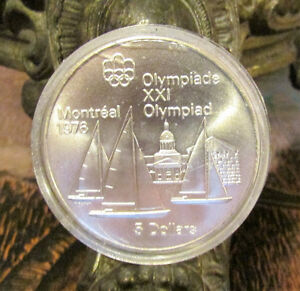 Montreal Olympics XXI 1976 Series I – Set of 4 Silver Coin 92.5% Kitchener / Waterloo Kitchener Area image 5