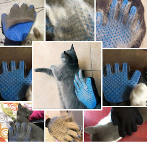 Silicone right hand hair remover Glove /Brush For Dog And Cat