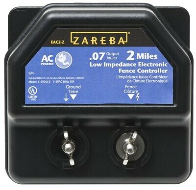 New Red Snapr Ea2m-z 110 Volt Ac Power Electric Fencer Charger Sale 6204655