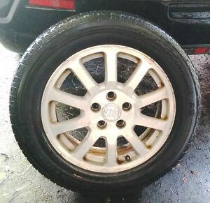 4 mags Buick 17'' + pneus d'été / summer tires (225-60-17)   Bol