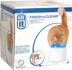 Abreuvoir fontaine pour chats / chiens Cat it / Fresh & Clean