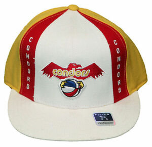 NEW-REEBOK-NBA-PITTSBURGH-CONDORS-ABA-BASKETBALL-FITTED-HAT-CAP-VARIOUS-SIZES