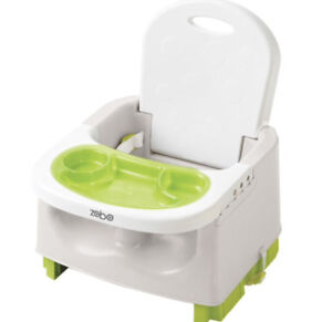Travel Booster Seat with removable great dinner plate
